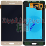 DISPLAY LCD ORIGINALE Samsung SM-J510 Galaxy J5 2016 GOLD ORO touch vetro schermo vetrino