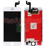 DISPLAY TOUCHSCREEN LCD COMPLETO per iPhone 6s BIANCO vetro touch schermo vetrino TOP AA
