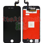DISPLAY TOUCHSCREEN LCD COMPLETO per iPhone 6s NERO vetro touch schermo vetrino TOP AA