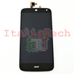 DISPLAY LCD ASSEMBLATO TOUCHSCREEN PER ACER Liquid z630 LCD NERO schermo touch screen