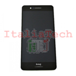 DISPLAY LCD ASSEMBLATO TOUCHSCREEN PER HTC Desire 728G NERO schermo touch screen