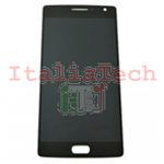 DISPLAY LCD ASSEMBLATO TOUCHSCREEN PER Oneplus 2 NERO schermo touch screen