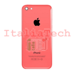 Back Cover Copribatteria posteriore COMPLETO Per apple iphone 5c Rosa scocca retro guscio