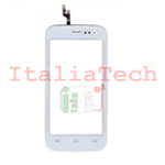 VETRO TOUCHSCREEN per Wiko Iggy vetrino touch screen BIANCO