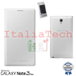 CUSTODIA Folio Case originale Samsung EF-WN750BWE per N7505 Galaxy Note3 Neo Bianco Bianca