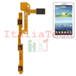 FLAT Flex Tasti Volume power on/off per Samsung GALAXY TAB 3 LITE T211 ricambio