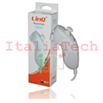 WII NUNCHUCK CONTROLLER LINQ COMPATIBILE NINTENDO TYW-1124A BIANCO