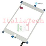 VETRINO touchscreen ASSEMBLATO per iPad Mini 4 A1538 A1550 BIANCO SILVER vetro touch IC chip