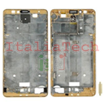 Cornice laterale Scocca FRAME HUAWEI MATE 7 GOLD ORO Ricambio Middle frame