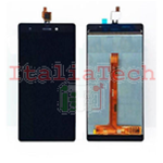 "TOUCH SCREEN + LCD DISPLAY ASSEMBLATI WIKO PULP 4G 5,0"" NERO schermo vetro vetrino"