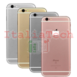 Back Cover Copribatteria posteriore Per apple iphone 6s Oro scocca retro guscio