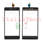 TOUCH SCREEN WIKO FEVER 4G NERO vetro vetrino black