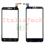 VETRO TOUCH SCREEN Alcatel Vodafone Smart Prime 6 VF-895N Digitizer Nero Vetrino