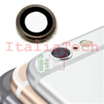LENTE per fotocamera posteriore iPhone 7 back camera lens supporto anello NERO