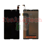 TOUCH SCREEN + LCD DISPLAY ASSEMBLATI WIKO ROBBY NERO schermo vetro vetrino