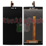 TOUCH SCREEN + LCD DISPLAY ASSEMBLATI WIKO Ridge 4G NERO schermo vetro vetrino