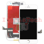 DISPLAY TOUCHSCREEN LCD COMPLETO per iPhone 7 PLUS BIANCO vetro touch schermo vetrino TOP AA