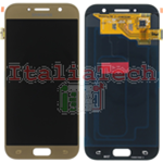 DISPLAY LCD ORIGINALE Samsung A520F Galaxy A5 2017 GOLD vetrino touch vetro schermo oro