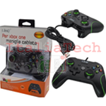 JOYPAD LINQ CON FILO XBOX ONE e PC COMPATIBILE JOYSTICK PER CONSOLE GAMEPAD