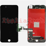 DISPLAY TOUCHSCREEN LCD COMPLETO per iPhone 7 NERO vetro touch schermo vetrino TOP AA