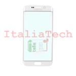 VETRINO per touchscreen Samsung Galaxy S6 EDGE G925 BIANCO vetro touch screen SM-G925