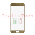VETRINO per touchscreen Samsung Galaxy S6 EDGE G925 GOLD vetro touch screen SM-G925 oro