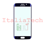 VETRINO per touchscreen Samsung Galaxy S6 EDGE G925 Blue vetro touch screen SM-G925 Blu