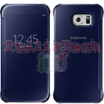 CUSTODIA CLEAR VIEW COVER originale Samsung EF-ZG920BBE per GALAXY S6 BLU