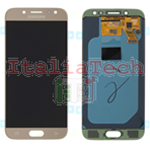 DISPLAY LCD ORIGINALE Samsung SM-J530 Galaxy J5 2017 GOLD ORO touch vetro schermo vetrino