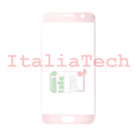 VETRINO per touchscreen Samsung Galaxy S7 G930 ROSA vetro touch screen