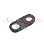 LENTE per fotocamera posteriore iPhone 7 PLUS back camera lens supporto anello NERO