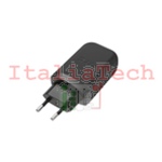 Caricabatteria Travel RETE originale HTC TC P5000 2.5A MICRO USB NERO Quick-Charge 5V/9V/12V