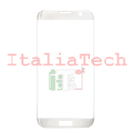 VETRINO per touchscreen Samsung Galaxy S7 Edge G935 BIANCO oro vetro touch screen