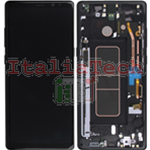 DISPLAY LCD ORIGINALE Samsung N950F Galaxy Note 8 NERO vetrino touch vetro schermo
