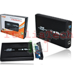 "CASE BOX ESTERNO 3.5"" SATA USB 3.0 IN ALLUMINIO PER HD HARD DISK LINQ U3-3506"