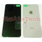 Back Cover Copribatteria posteriore Per apple iphone 8 PLUS Bianco scocca retro guscio
