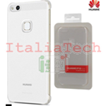 CUSTODIA Case Transparent Cover originale Huawei per P10 LITE HARD COVER