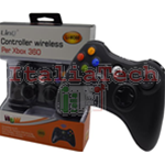 JOYPAD LINQ WIRELESS XBOX 360 e PC COMPATIBILE JOYSTICK PER CONSOLE GAMEPAD