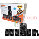 KIT DOLBY SURROUND 5.1 HOME THEATRE MULTIMEDIALE USB SD FM BLUETOOTH LINQ A3305