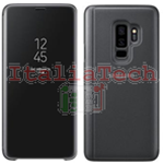 CUSTODIA CLEAR VIEW CASE COVER Originale Samsung EF-ZG965CBE Per Galaxy S9 Plus G965F Nera