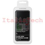 CUSTODIA CLEAR VIEW CASE COVER Originale Samsung EF-ZG960CBE Per Galaxy S9 G960F Nera