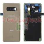 SCOCCA posteriore ORIGINALE per Samsung Galaxy Note 8 N950 oro gold back cover copri batteria