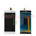 LCD DISPLAY + TOUCH PANEL ASSEMBLATI PER WIKO FEVER 4G (Bianco)