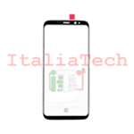 VETRINO per touchscreen Samsung Galaxy S8 G950 NERO vetro touch screen