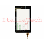 "VETRINO touchscreen per ACER ICONIA ONE TAB B1-730 7"" nero vetro touch screen"