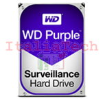 "HDD HARD DISK 3,5"" 1TB 1000GB WESTERN DIGITAL PURPLE WD WD10PURZ"