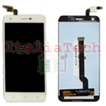 TOUCH SCREEN + LCD DISPLAY ASSEMBLATI Alcatel Vodafone Smart ultra 6 VF-995N BIANCO schermo vetro vetrino