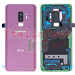 SCOCCA posteriore ORIGINALE per Samsung Galaxy S9+ PLUS G965F purple viola back cover copri batteria