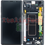 DISPLAY LCD ORIGINALE Samsung N960F Galaxy Note 9 NERO vetrino touch vetro schermo
