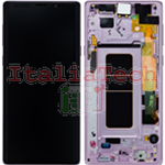 DISPLAY LCD ORIGINALE Samsung N960F Galaxy Note 9 LAVANDER vetrino touch vetro schermo
